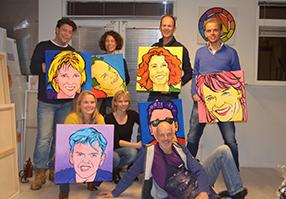 Henk Nyenhuis Schilderworkshop Portret Schilderen Zwolle
